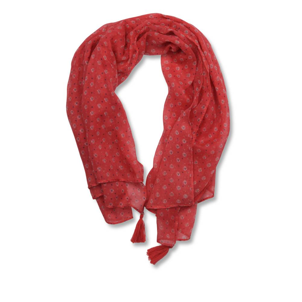 Foulard ROUGE LOVELY SKULL