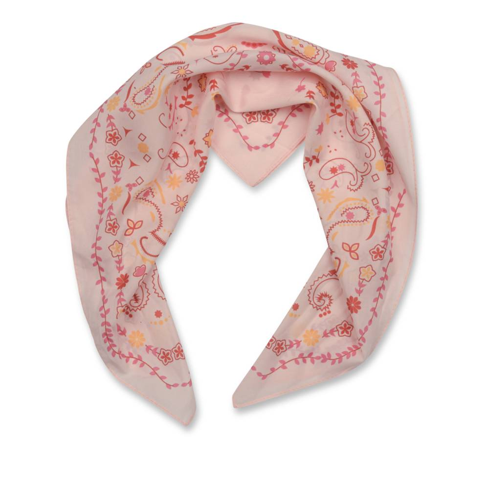 Foulard ORANGE MERRY SCOTT