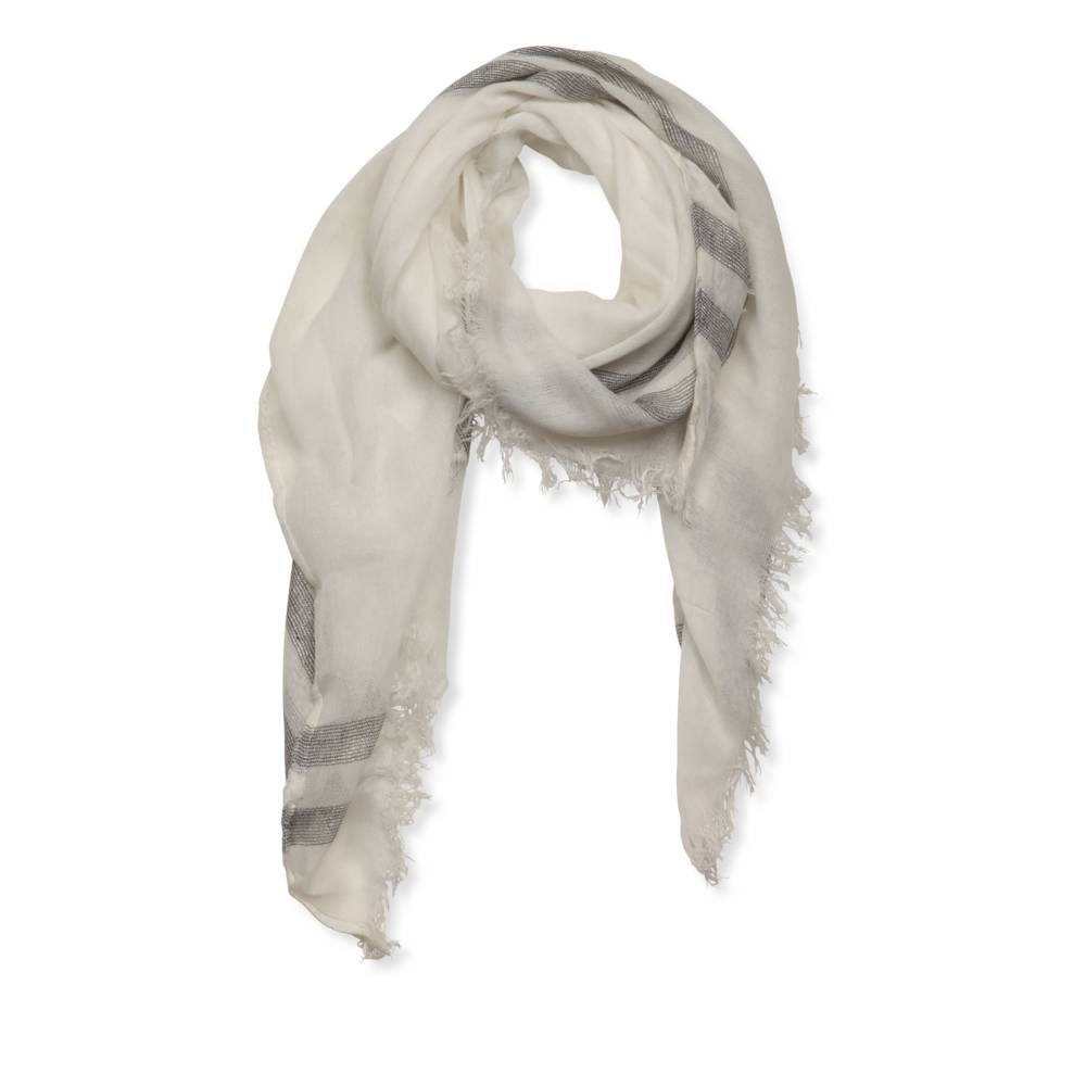 Snood BLANC MERRY SCOTT