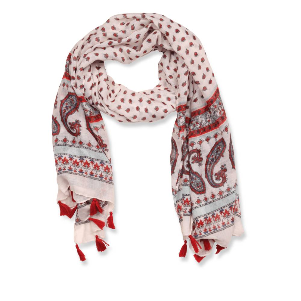 Foulard ROUGE MERRY SCOTT