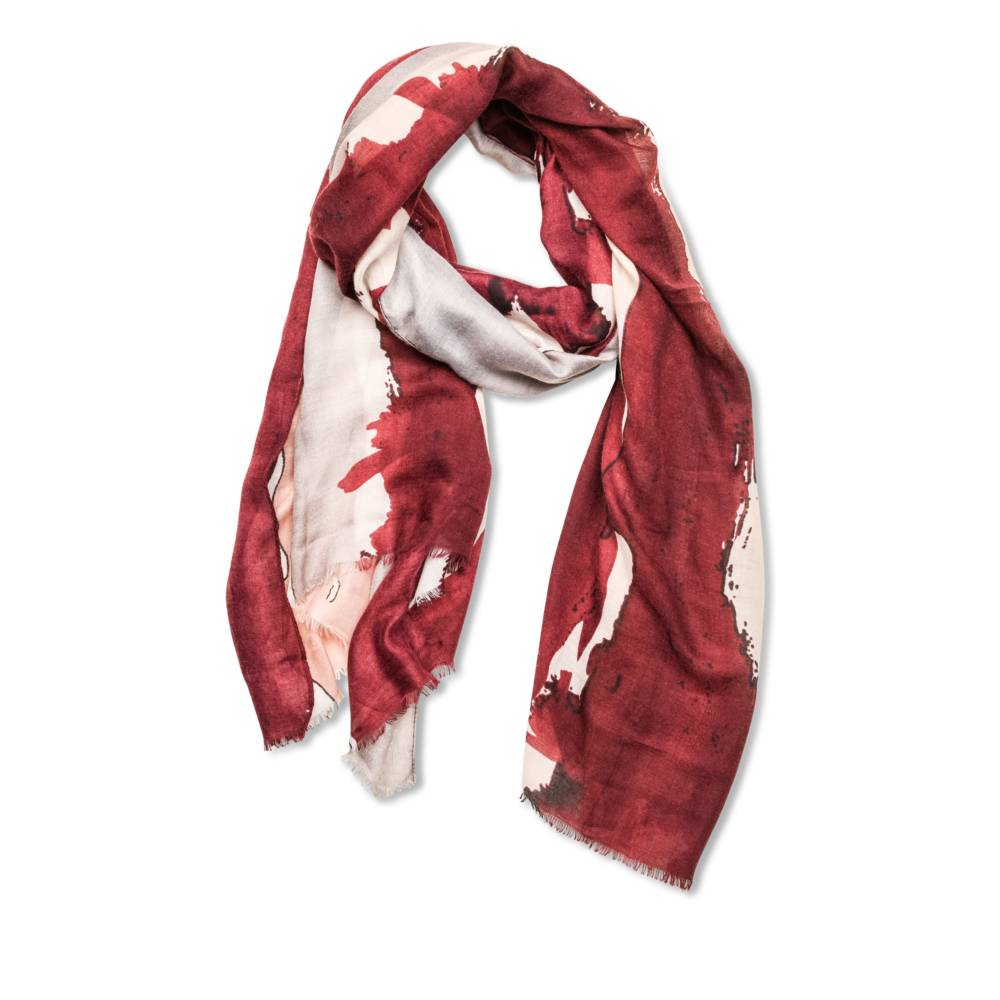 Foulard BORDEAUX MERRY SCOTT