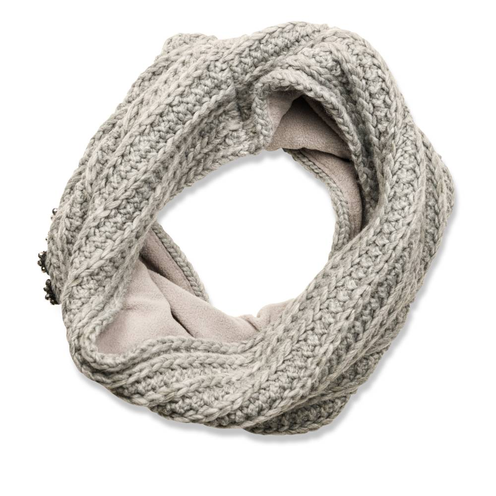Snood GRIS MERRY SCOTT