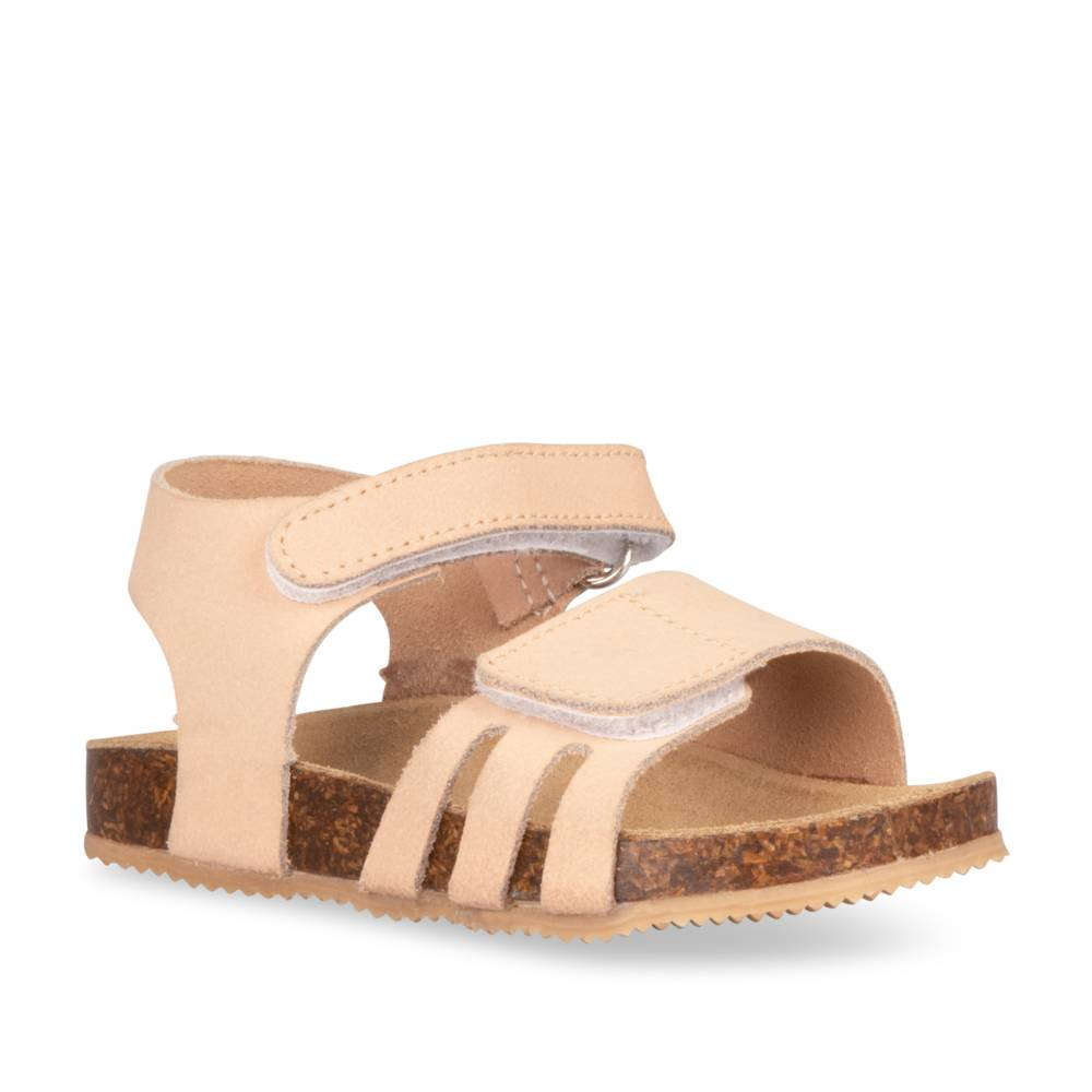 Sandales plates ROSE FREEMOUSS GIRL CUIR