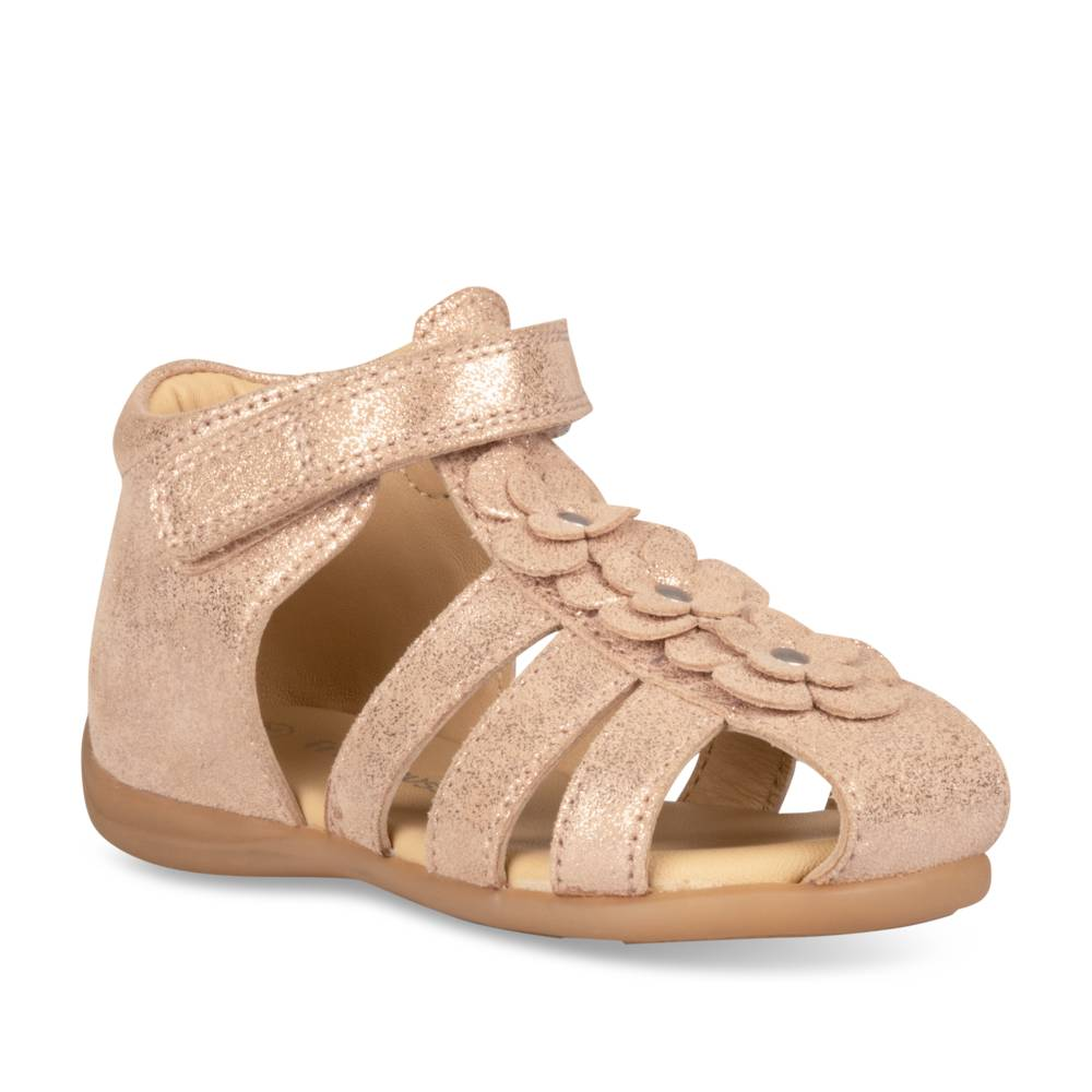 Sandales plates OR FREEMOUSS GIRL CUIR