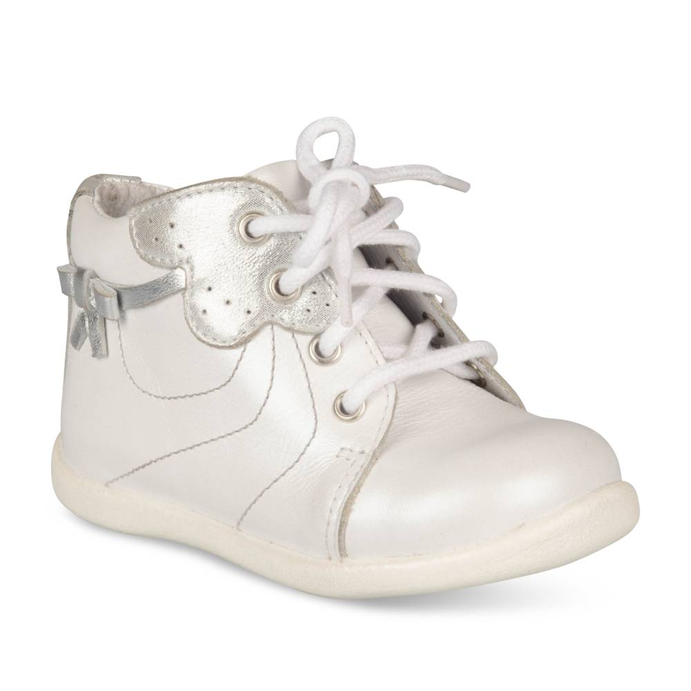 Bottines BLANC FREEMOUSS GIRL CUIR