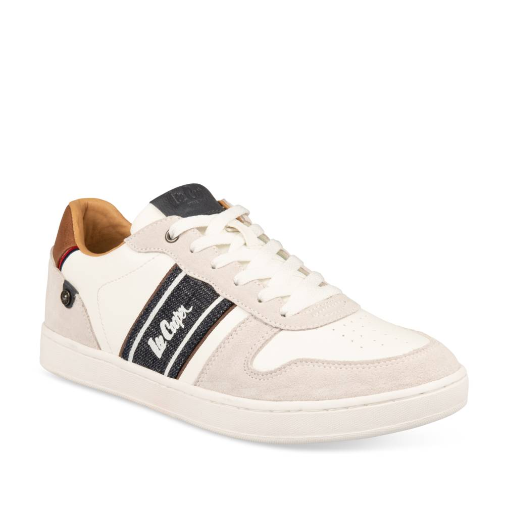 Baskets BLANC LEE COOPER