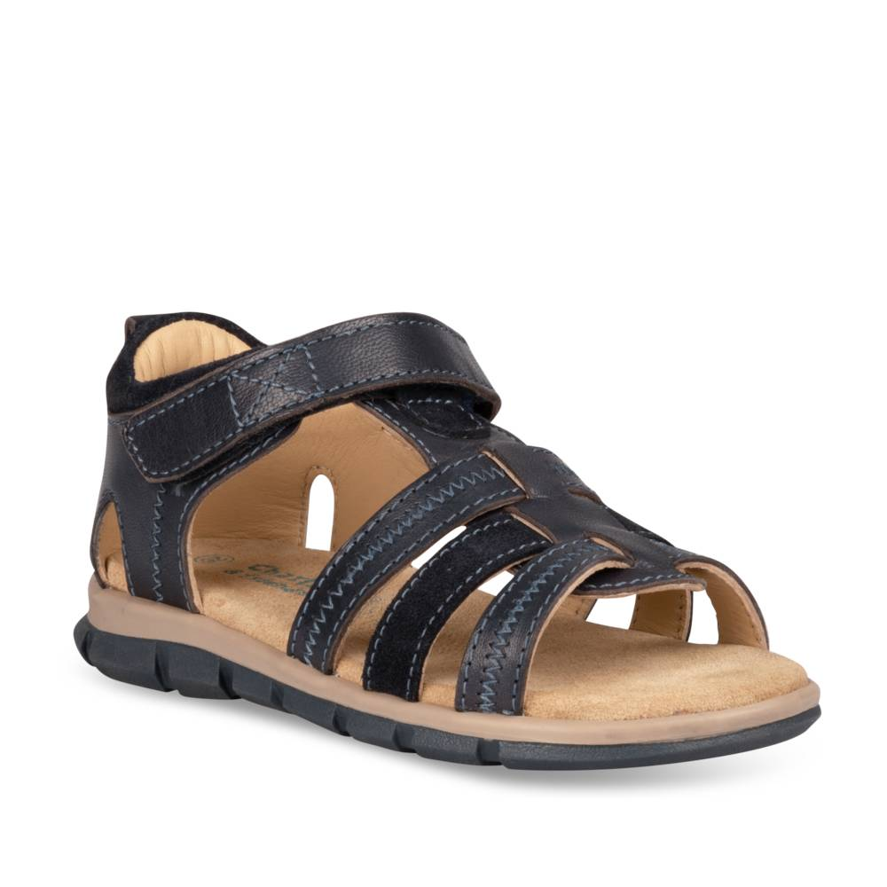 Sandalen NAVY CHARLIE & FRIENDS CUIR