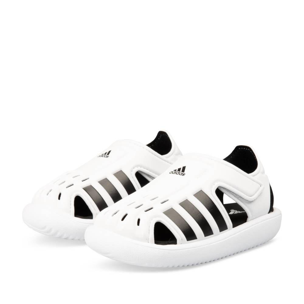 Teenslippers WIT ADIDAS