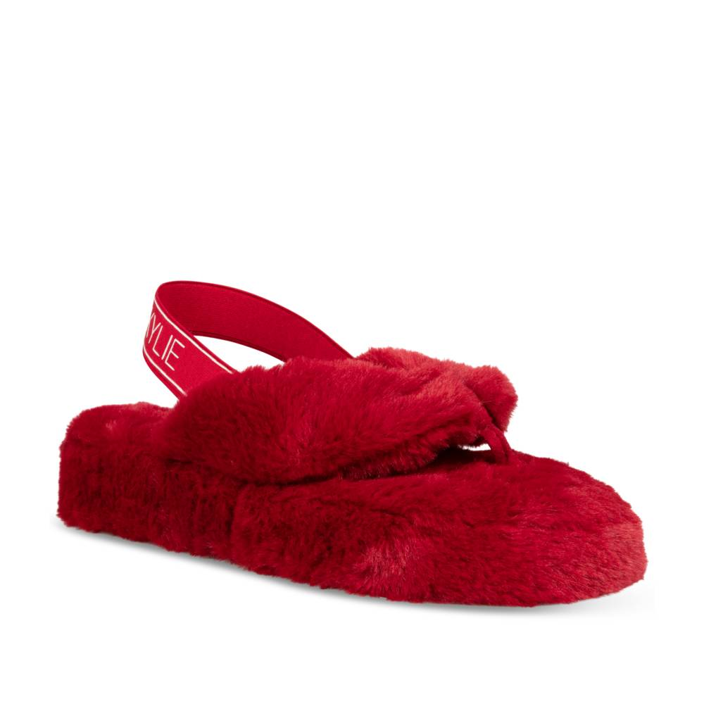 Chaussons ROUGE KENDALL+KYLIE