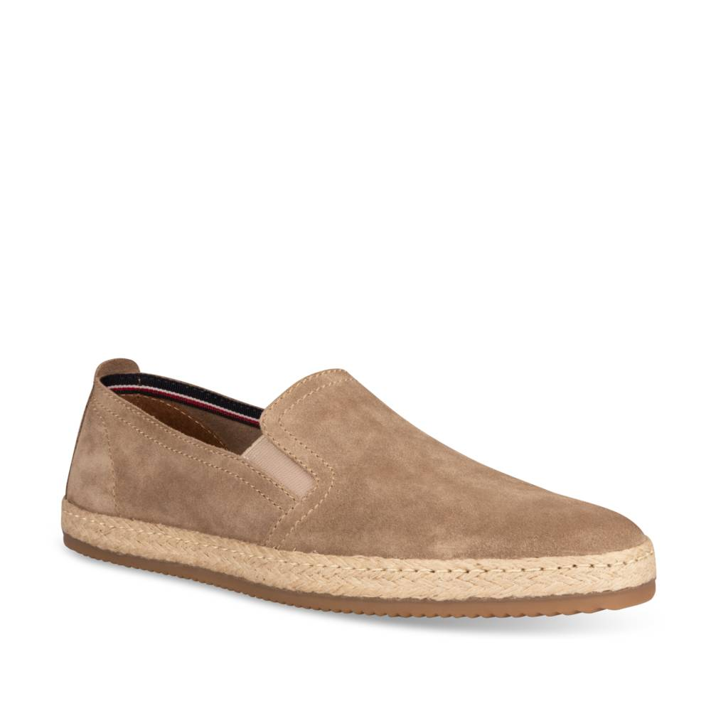 Espadrilles TAUPE DENIM SIDE CUIR
