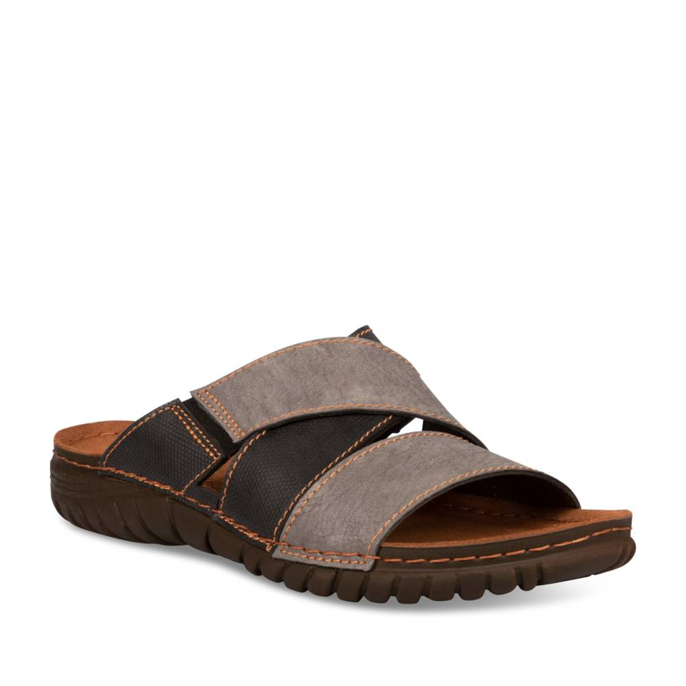 Mules GRIS NEOSOFT RELAX