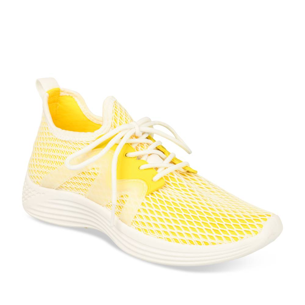 Baskets JAUNE ACTIVE FASHION