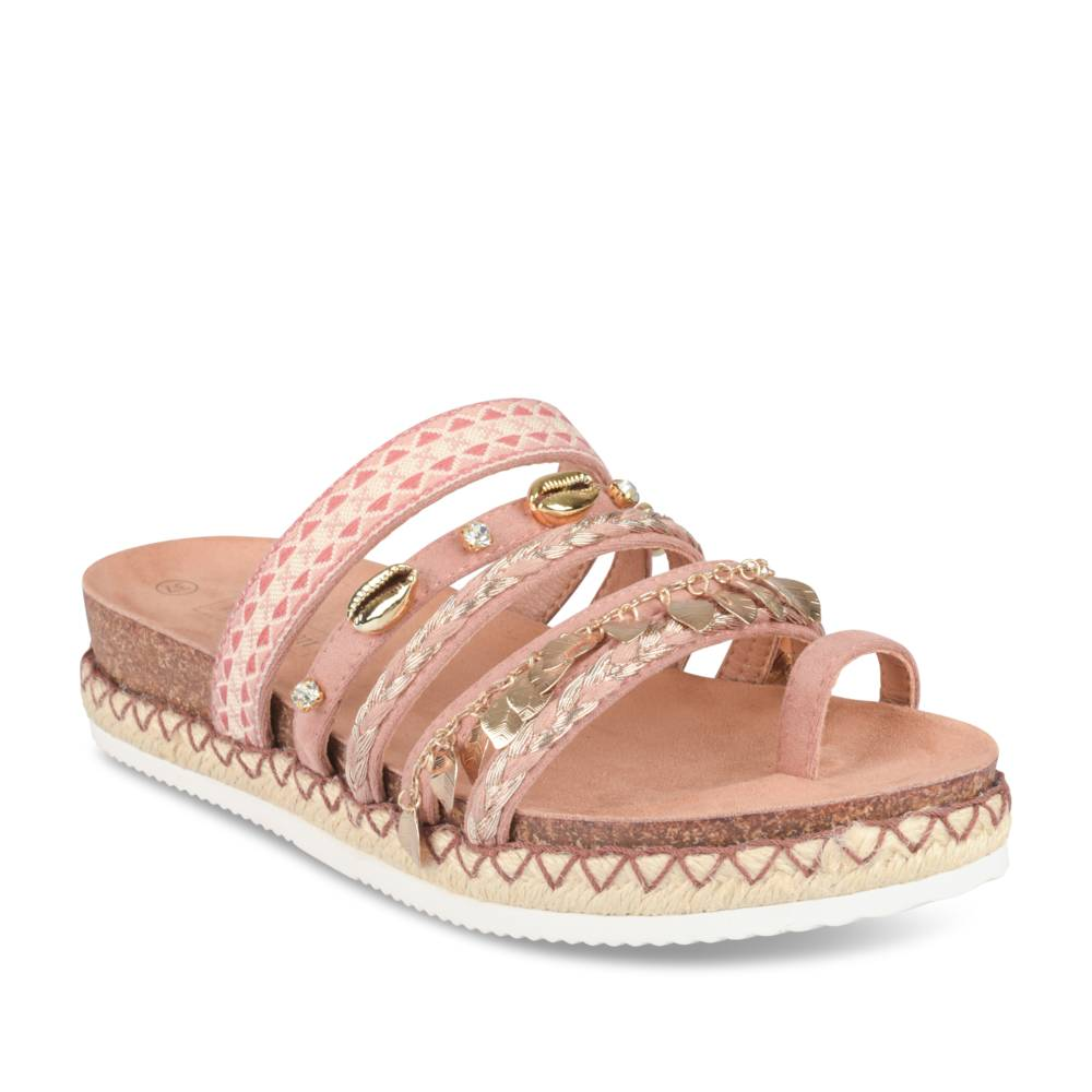 Teenslippers BEIGE MERRY SCOTT