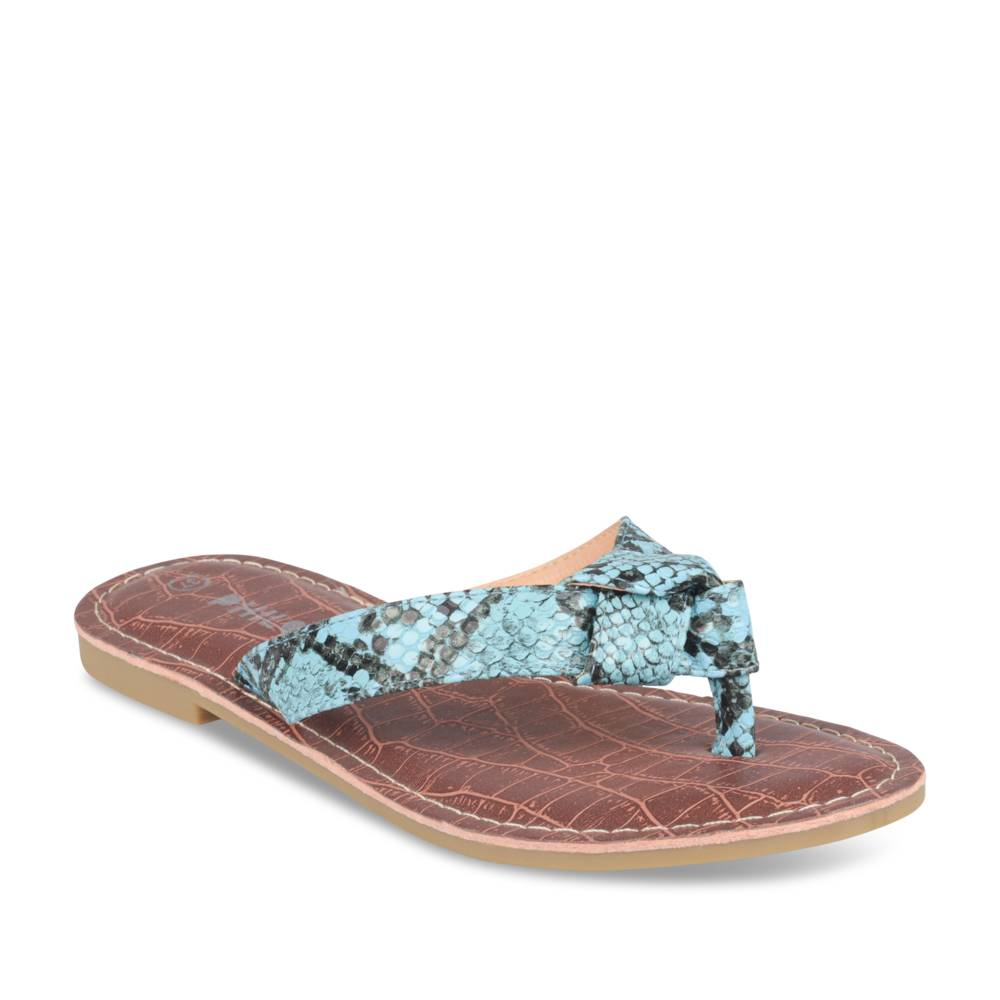 Teenslippers BLAUW PHILOV