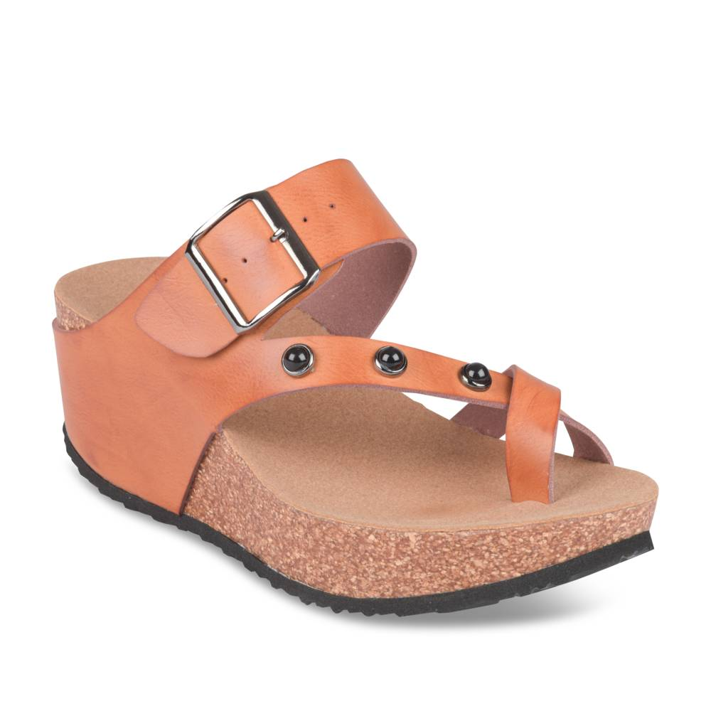 Teenslippers COGNACKLEUR LADY GLAM