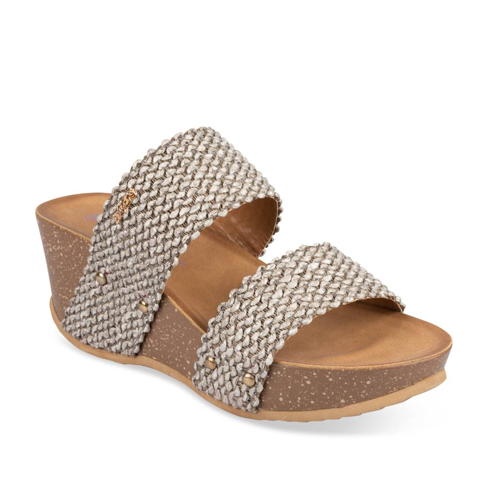 Mules TAUPE LADY GLAM