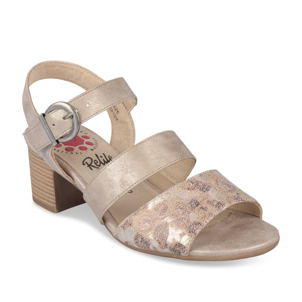 Sandalen TAUPE RELIFE