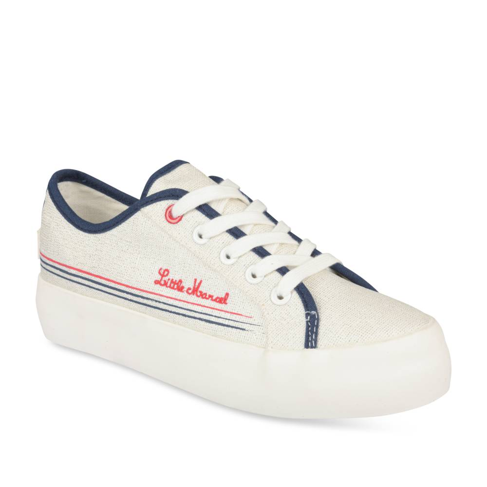 Baskets BLANC LITTLE MARCEL