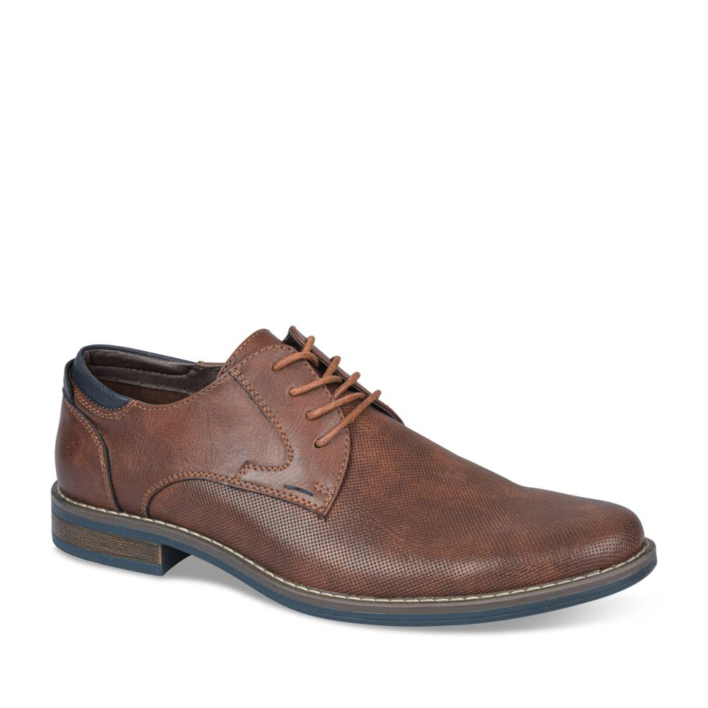 Derbies MARRON NEOSOFT HOMME