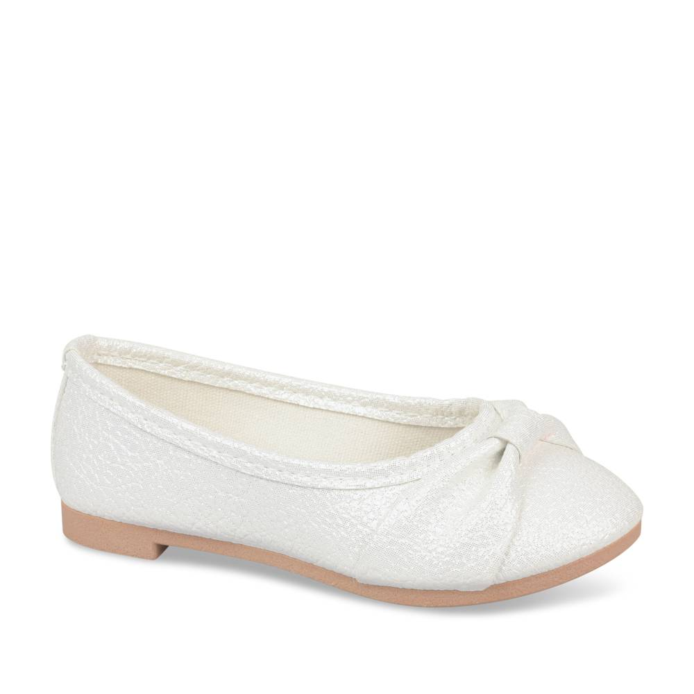 Ballerines BLANC NINI & GIRLS