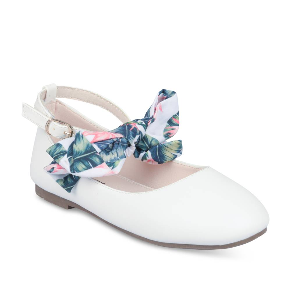 Ballerines BLANC LOVELY SKULL