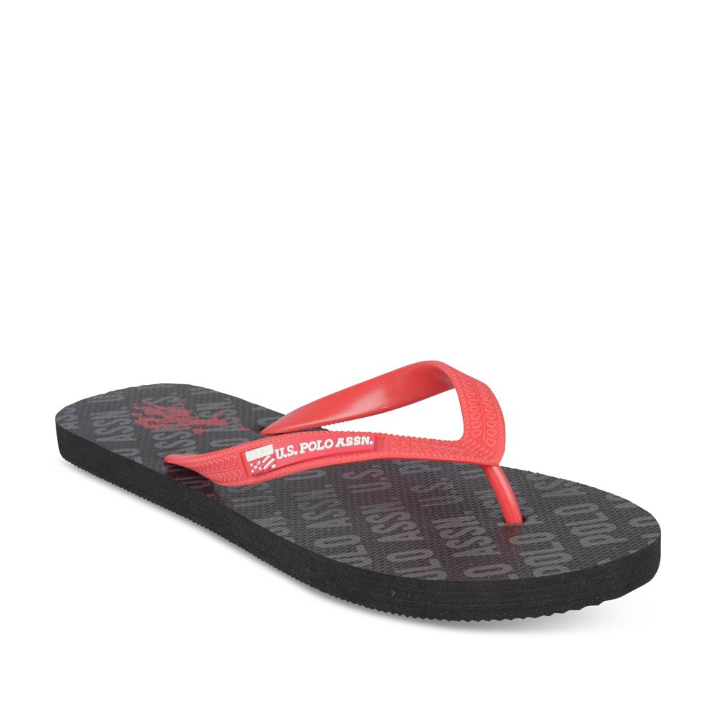 Teenslippers ZWART U.S. POLO ASSN.