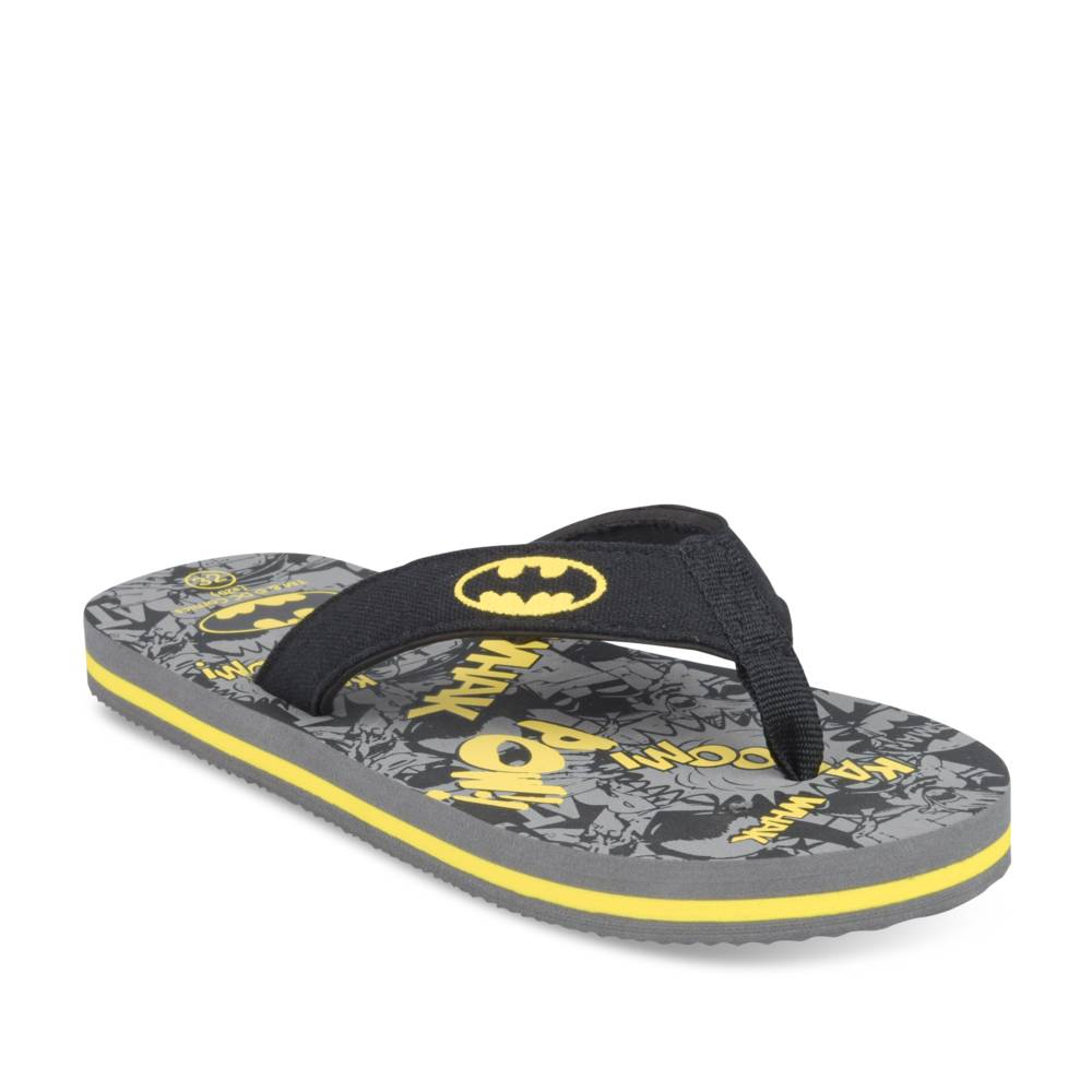 Teenslippers ZWART BATMAN