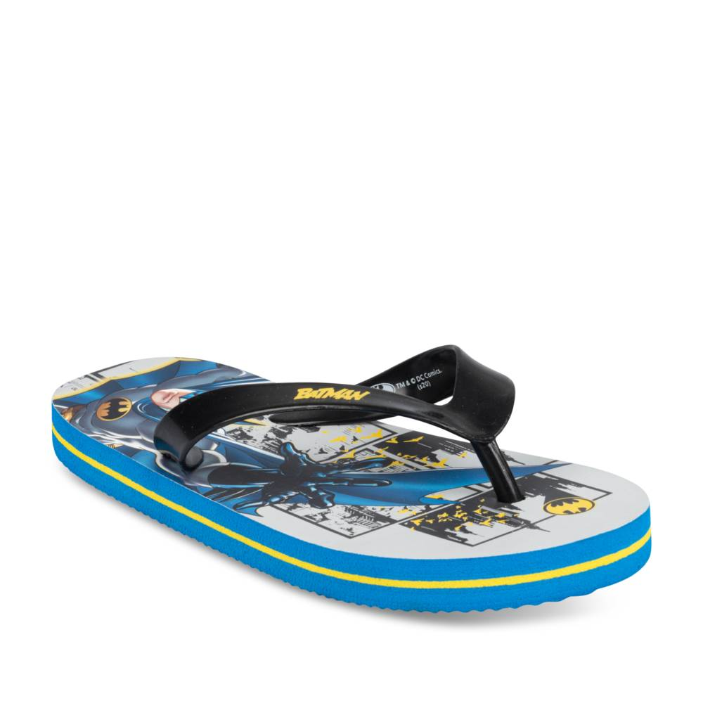 Teenslippers BLAUW BATMAN