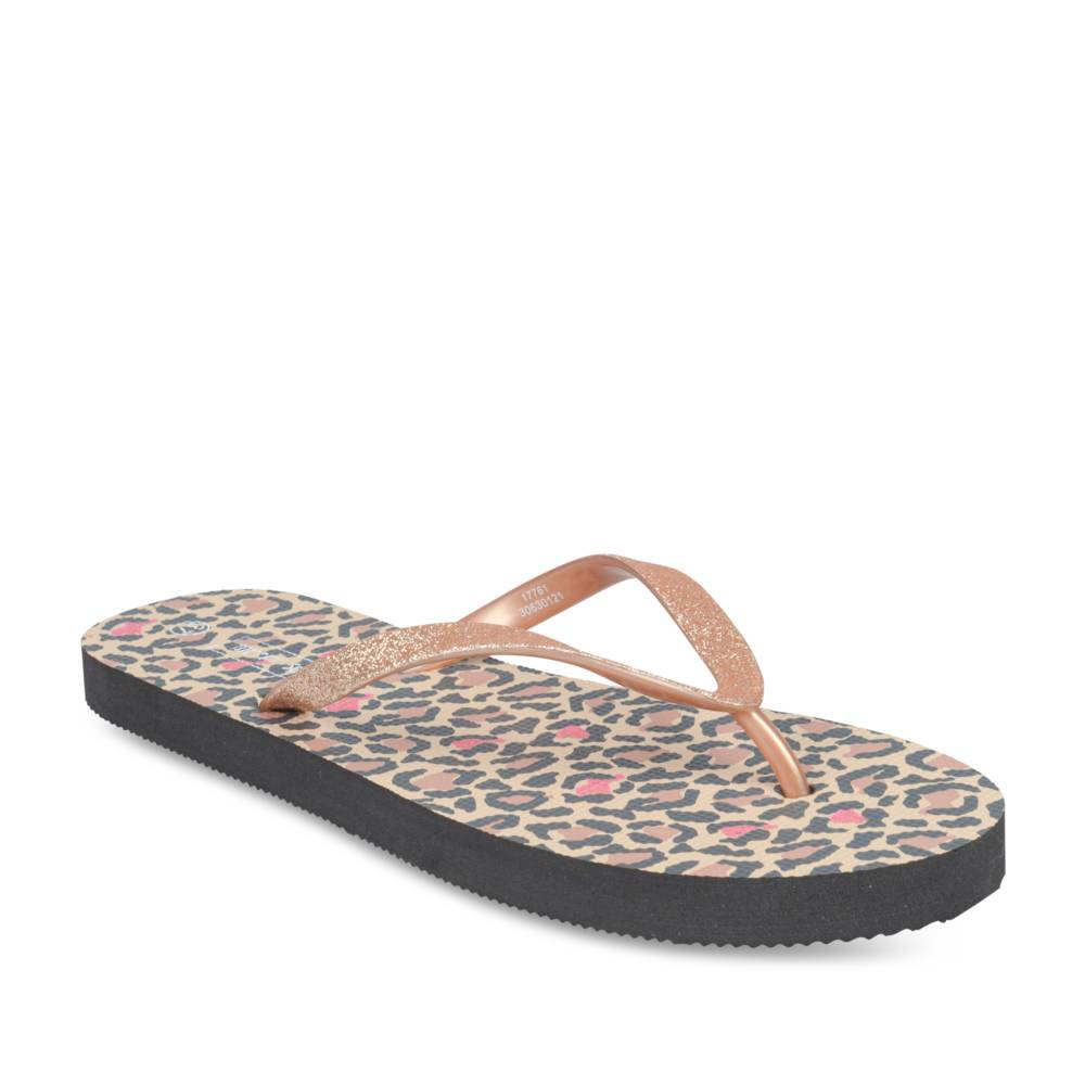 Teenslippers ZWART MERRY SCOTT