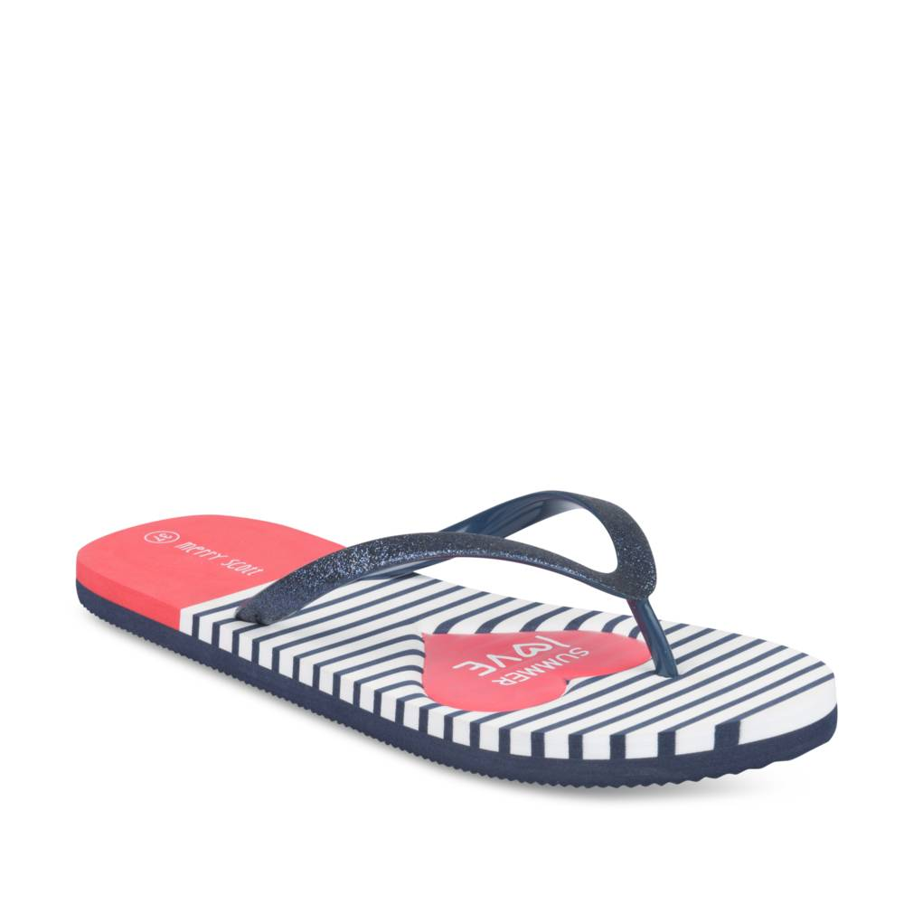 Teenslippers NAVY MERRY SCOTT