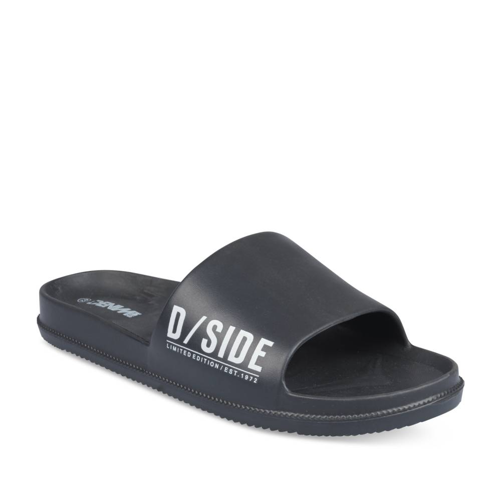 Tongs NOIR DENIM SIDE