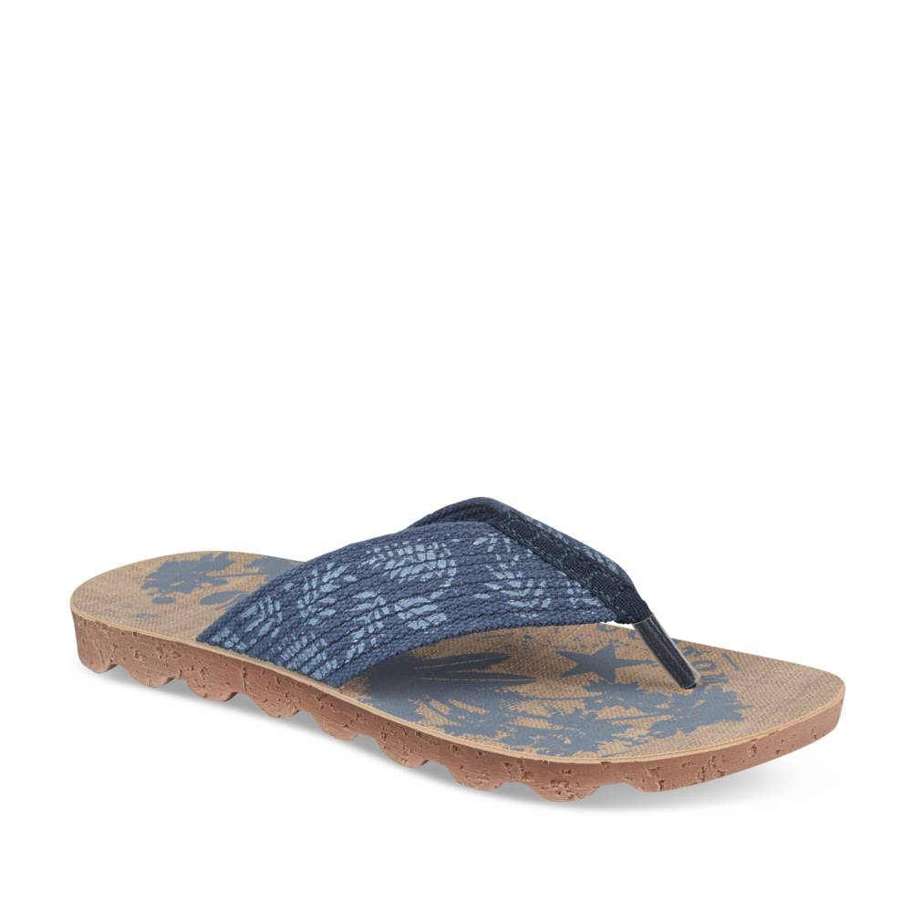 Teenslippers NAVY INBLU