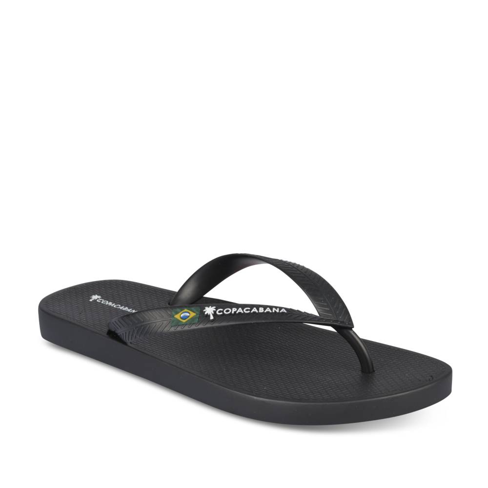 Teenslippers ZWART COPACABANA