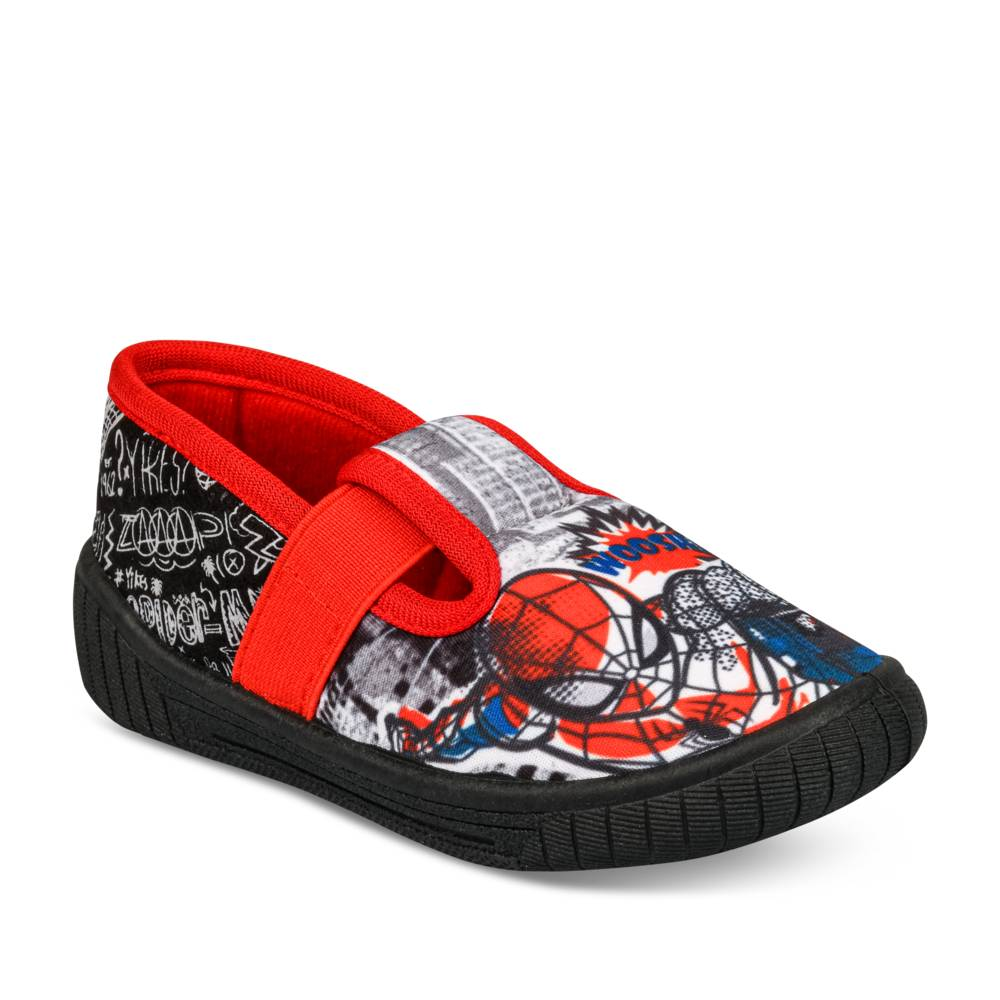 Chaussons NOIR SPIDERMAN