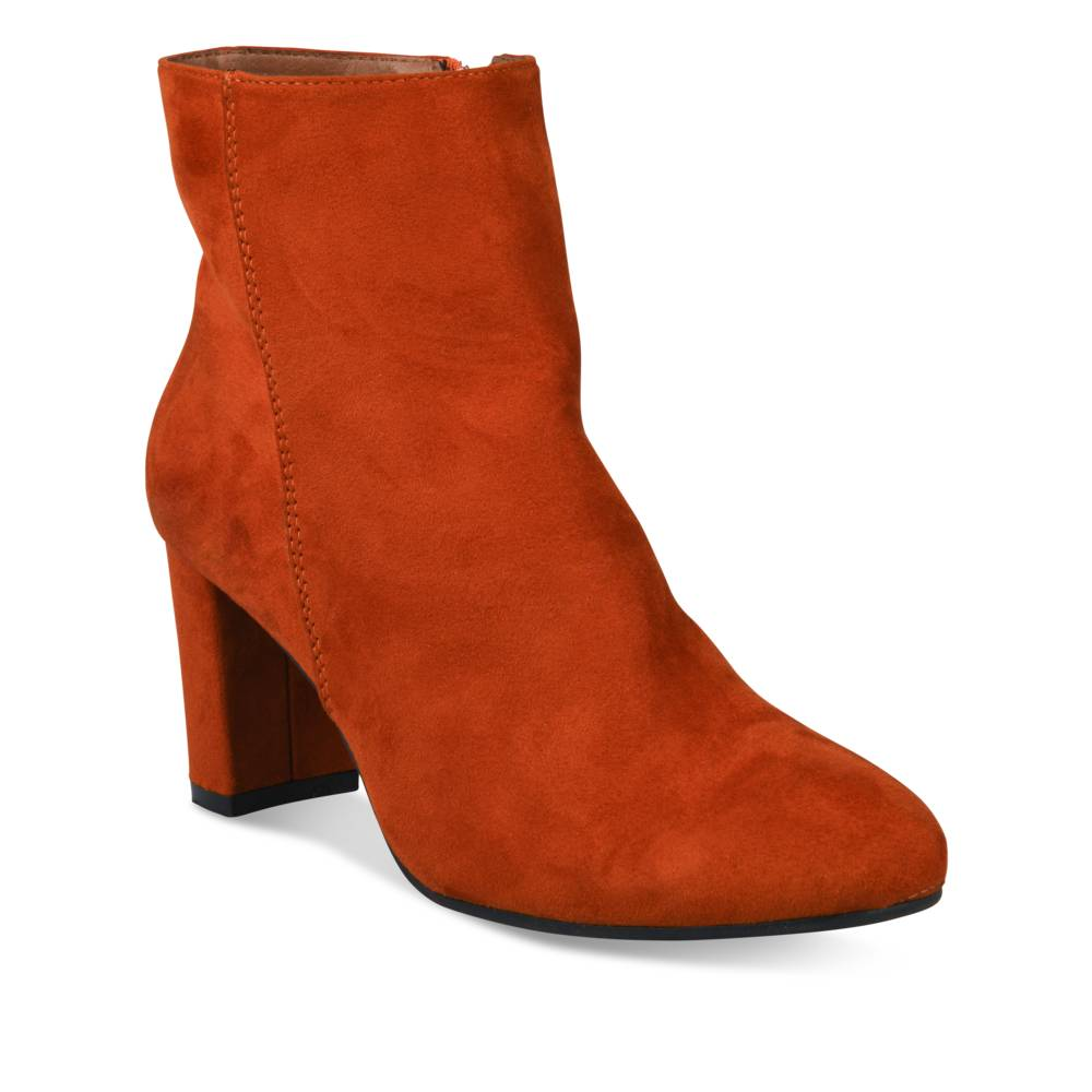 Bottines à talon ORANGE SINEQUANONE
