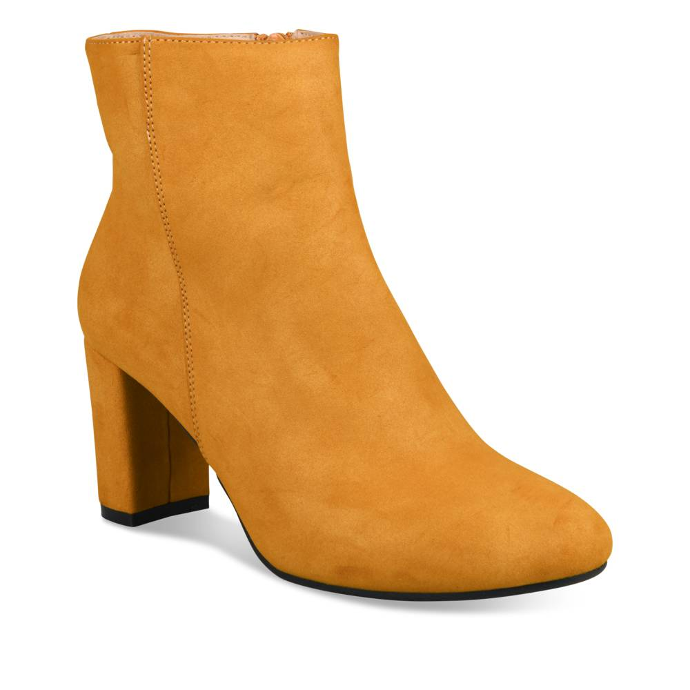 Bottines à talon JAUNE SINEQUANONE