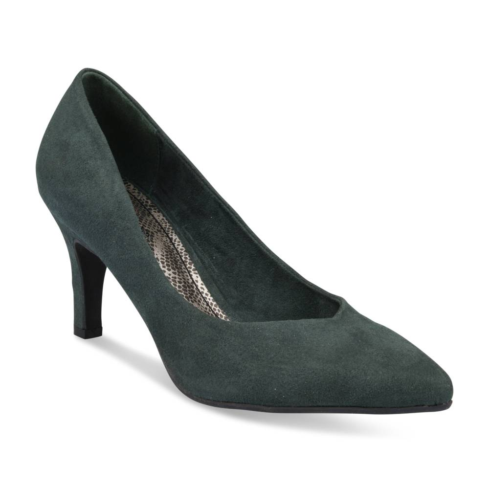 Pumps GROEN GRANDS BOULEVARDS