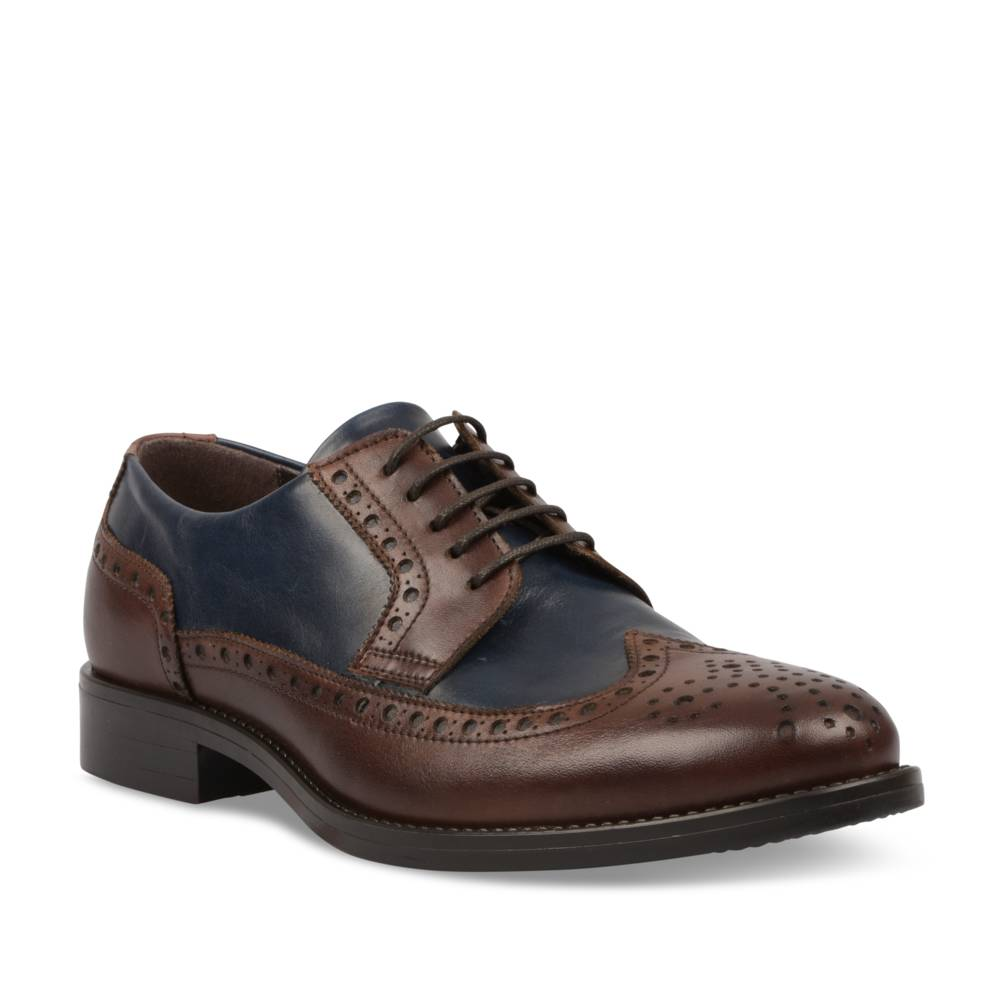 Derbies MARRON B-BLAKE CUIR