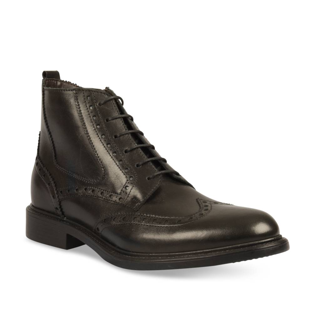 Bottines NOIR B-BLAKE CUIR