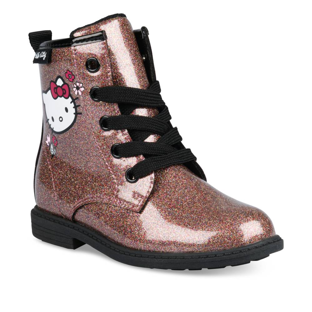 Bottines BORDEAUX HELLO KITTY