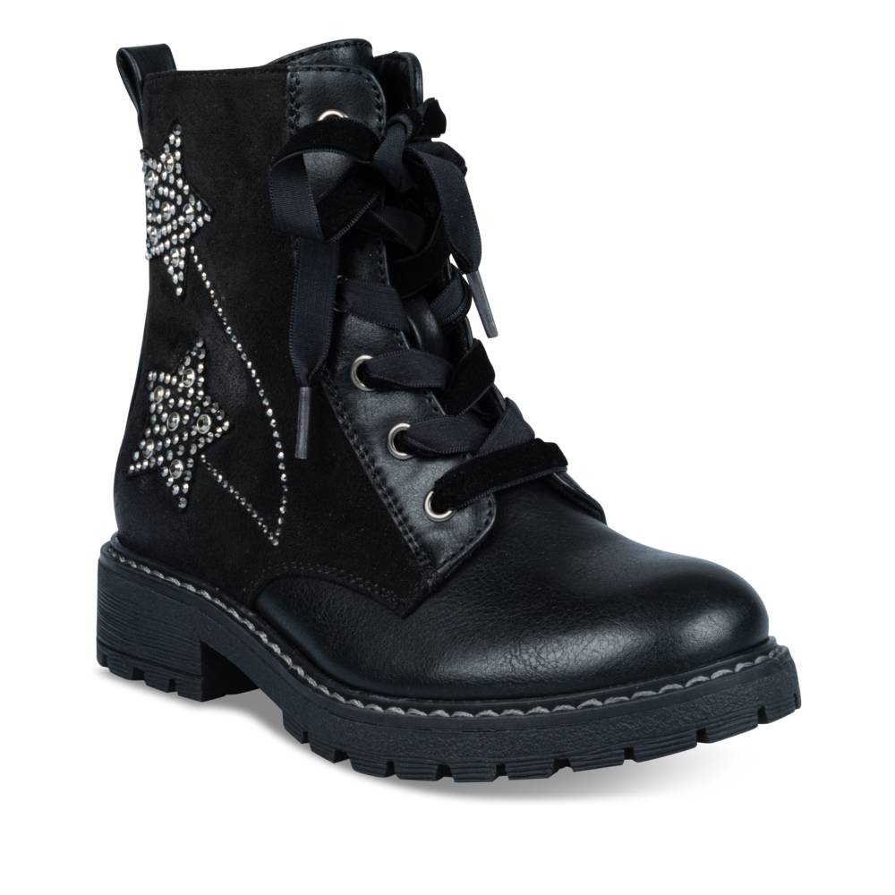 Bottines NOIR LOVELY SKULL