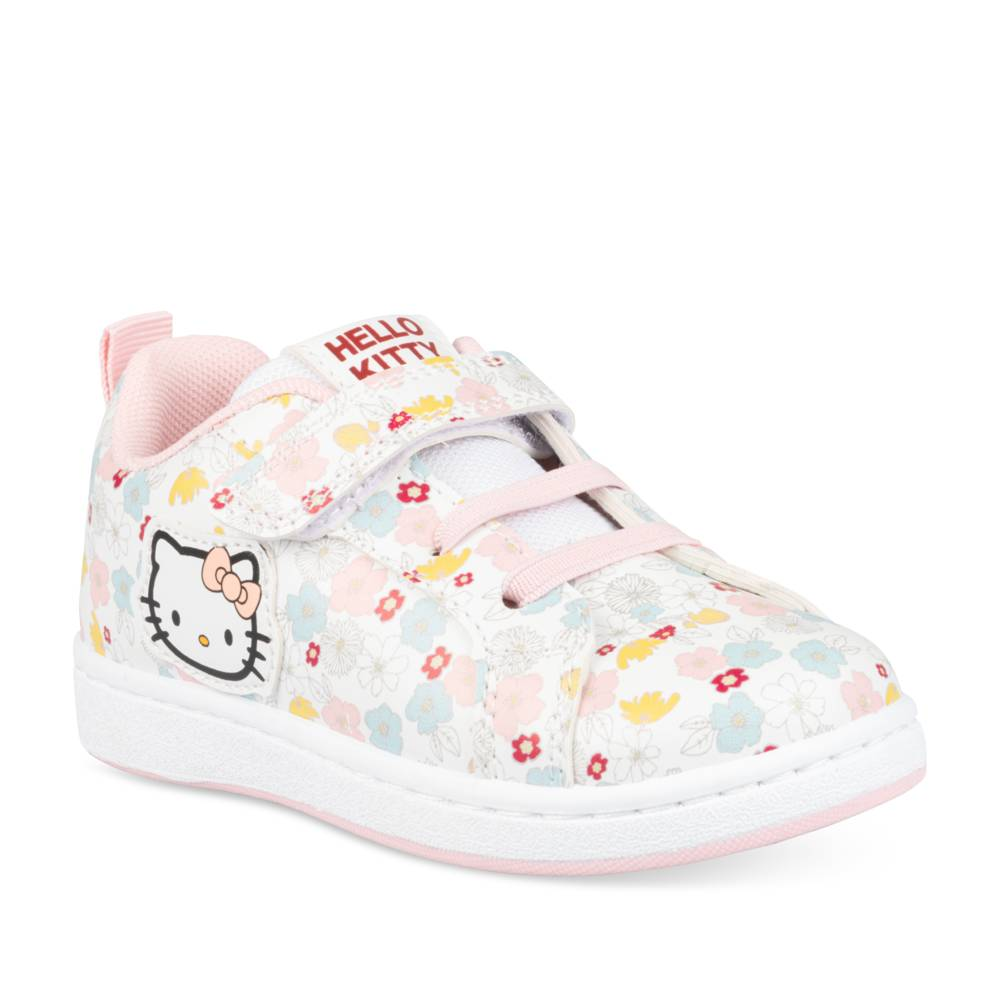 Baskets BLANC HELLO KITTY