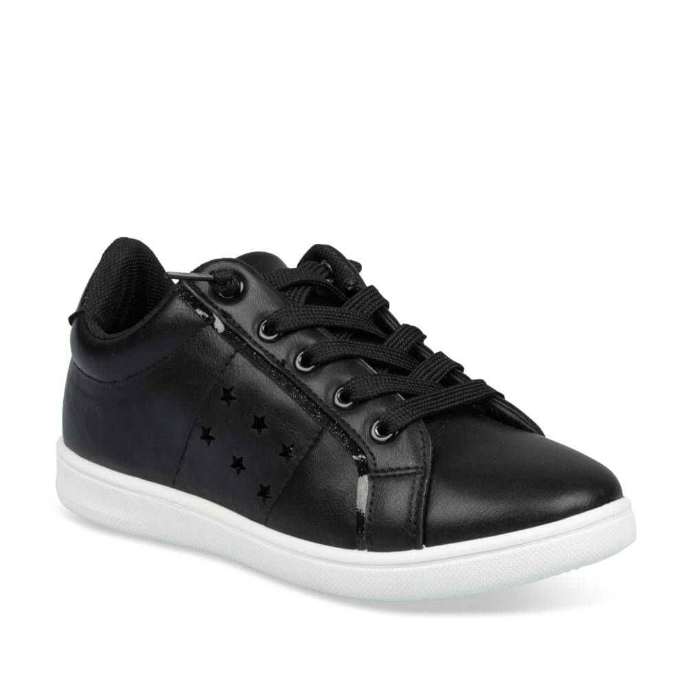 Sneakers ZWART LOVELY SKULL