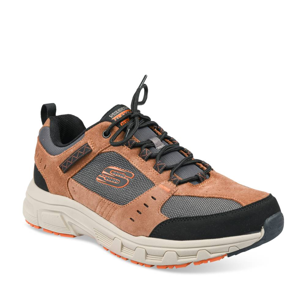 Baskets MARRON SKECHERS
