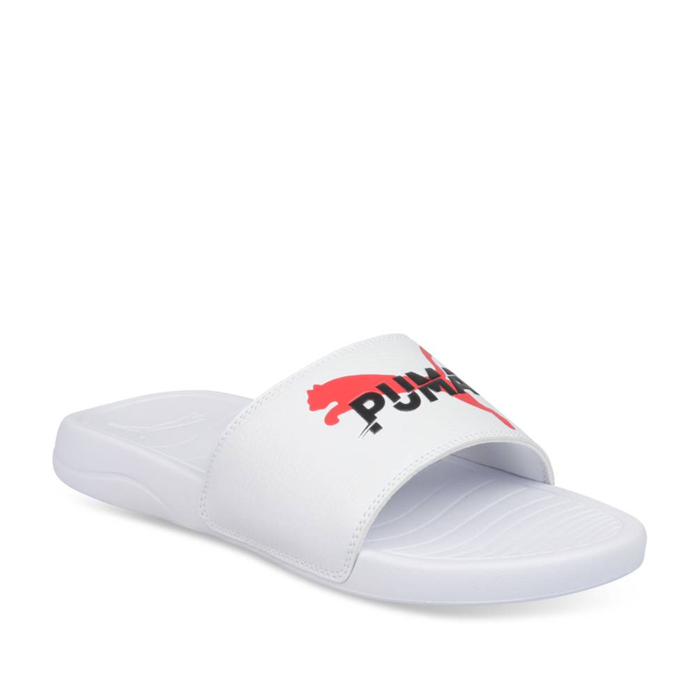 Teenslippers WIT PUMA