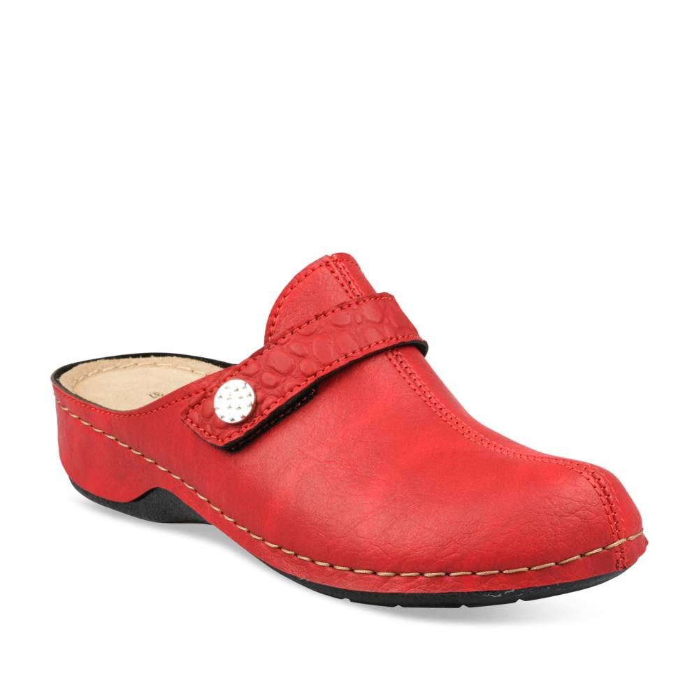 Mules ROUGE NEOSOFT RELAX