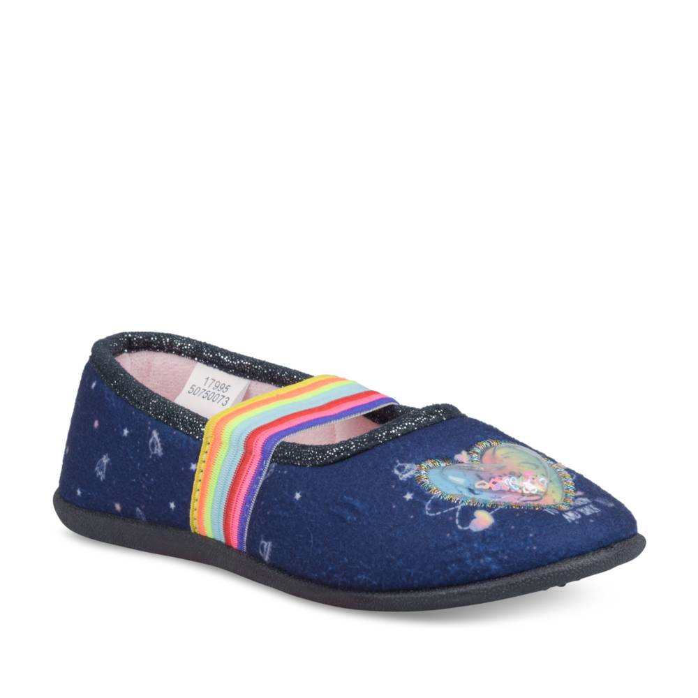 Pantoffels NAVY LOVELY SKULL