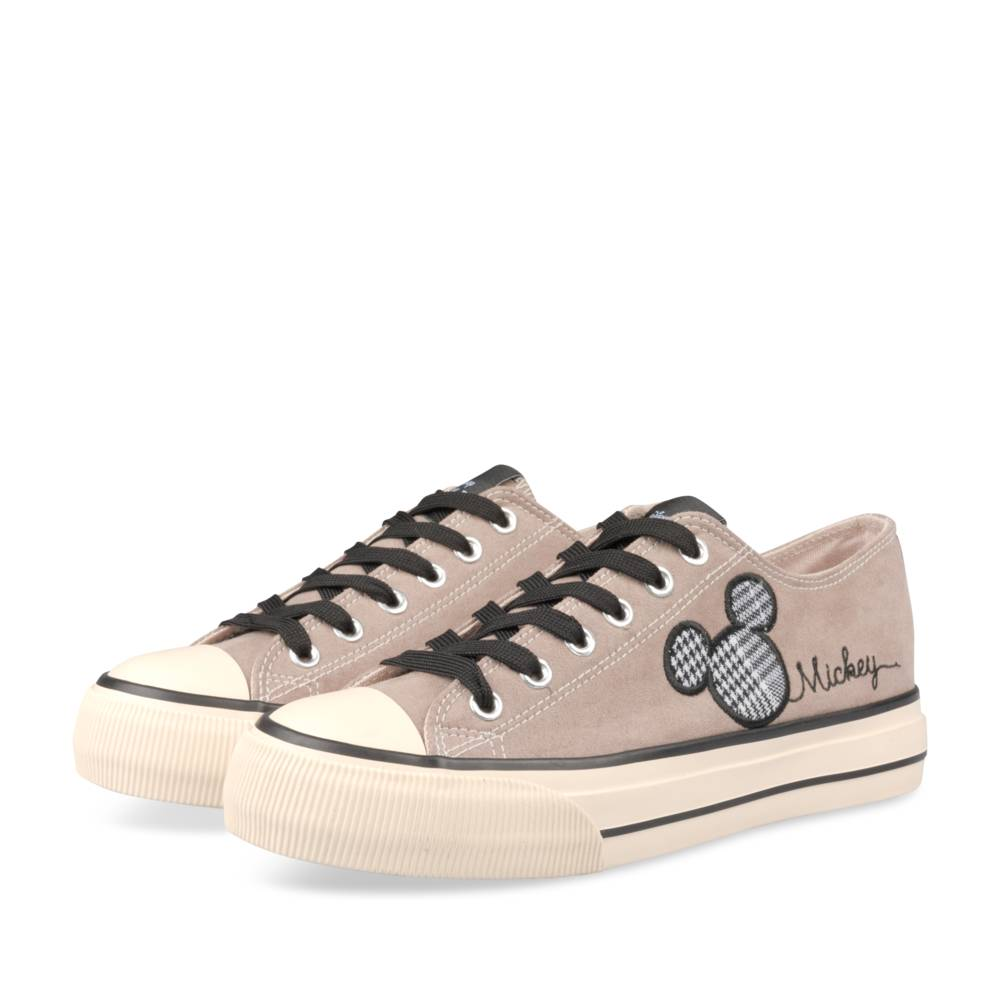 Baskets TAUPE MICKEY