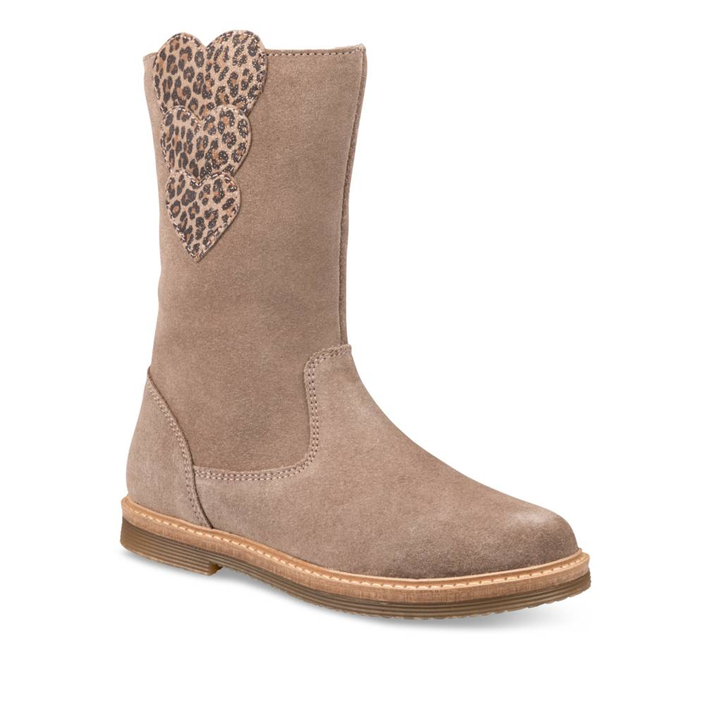 Bottes TAUPE LOVELY SKULL CUIR
