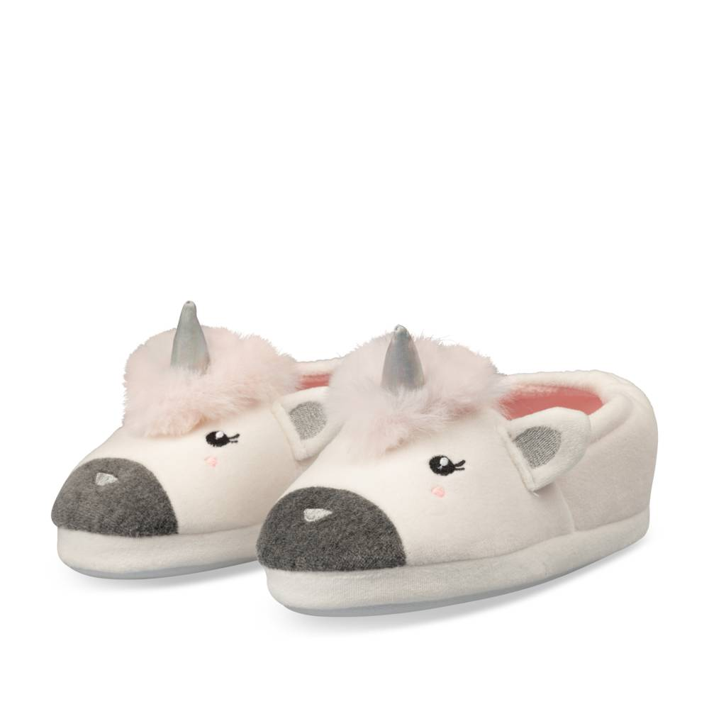 Chaussons BLANC LOVELY SKULL